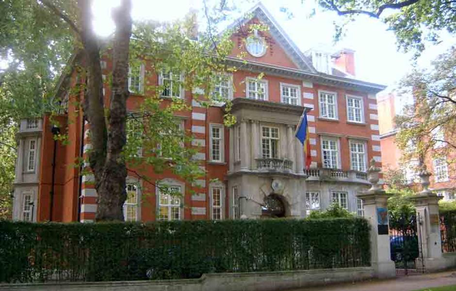 ambasada romaniei londra